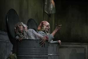 Finale di partita Teatro d'Emergenza con Elena Strada e Simon Waldvogel