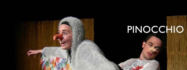 PINOCCHIO spettacolo teatro d'emergenza