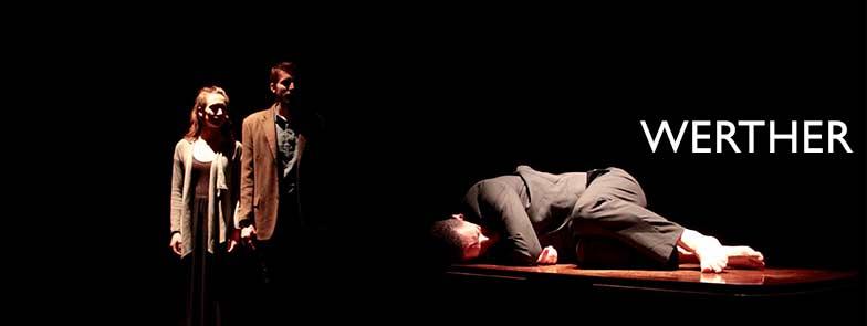 WERTHER spettacolo teatro d'emergenza