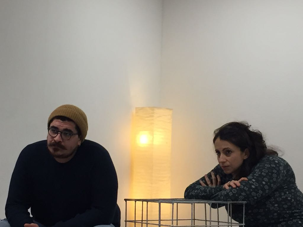 Matteo Ippolito e Margherita Saltamacchia animali notturni spettacolo teatro d'emergenza lugano