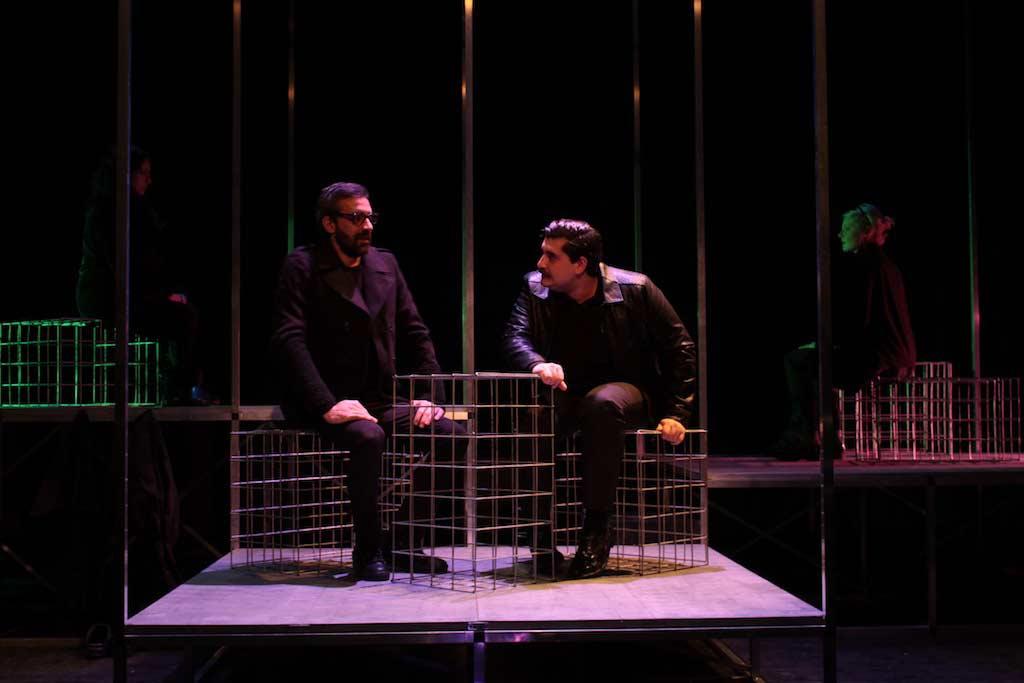 Animali Notturni Teatro d'Emergenza regia Luca Spadaro