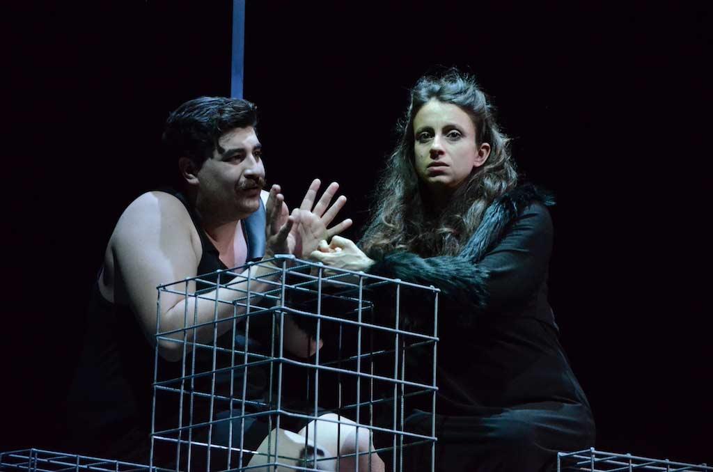 Animali Notturni Teatro d'Emergenza Matteo Ippolito Margherita Saltamacchia