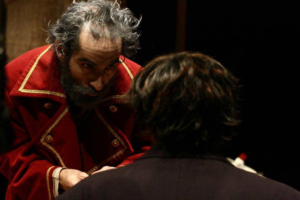 Spettacolo il Custode di Pinter con Massimiliano Zampetti